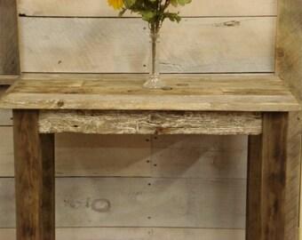 "Driftwood Sofa Table (36"" x 17"" x 30"" H)"