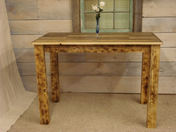 Counter Height Farm Table : Finish Select a finish Polycrylic [$499.00] Natural (No Finish) [$439 ...