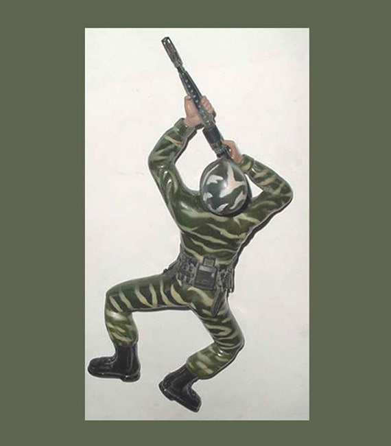 """1987 Regency GI Soldier -Crawler -Battery Operated  - 12"""" Figure -Great Action"""