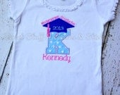Kindergarten or Preschool Graduation shirt - boy and girl colors available