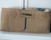 Not Your Usual Wine Bag Personalized Burlap