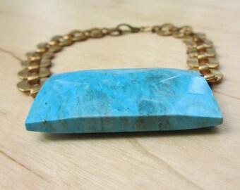 Insouciant Studios  Horus Bracelet Turquoise