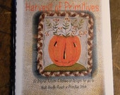 PATTERN BOOK - Harvest of Primitives - 10 patterns for you to hook, punch, stitch, applique - from Notforgotten Farm