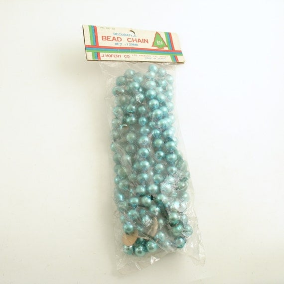 Glass Bead Garland For Christmas Tree