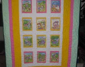 Grandma And The Patchwork Kids Quilt