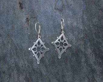 Ornate Cut Out Earrings, Mothers Day Sale