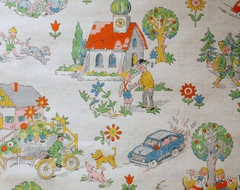 Vintage childrens wallpaper - 50 cm.