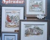 Scenic Splendor Cross Stitch Pattern Book by Stoney Creek
