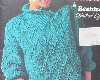 Vintage Patons Knit Fashions Knitting Book
