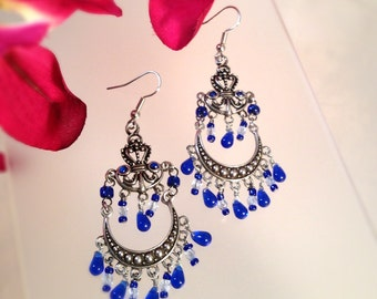 Royal Blue Chandeliers