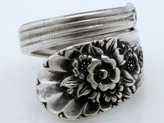 Wrapped Spoon Ring Size 10 Jubilee