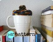PDF Crochet Pattern Mug Tam Mug Warmer
