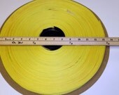 "1 Roll Webbing Strapping 1"" Yellow Poly"