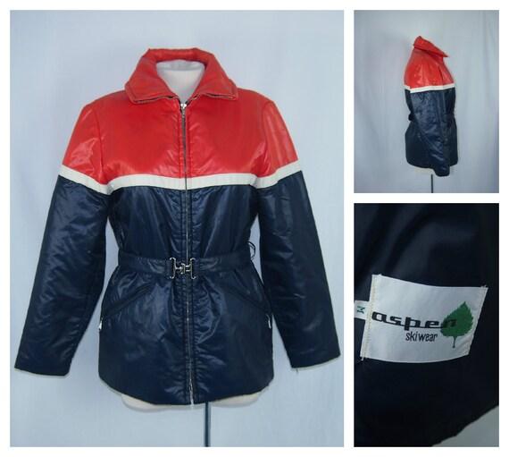 Vintage 60s 70s Aspen Skiwear Ski Jacket Clothing By