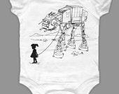 My Star Wars AT-AT Pet - Baby Onesie Bodysuit ( Star Wars baby onesie )