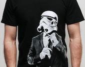 Smarttrooper - Mens t shirt  ( Star Wars / Storm trooper t shirt )