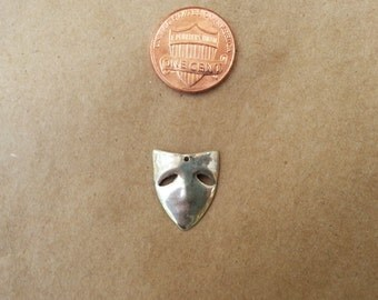 silver mask charm