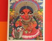 Maa Lokkhi Goddess of wealth MINI PRINT