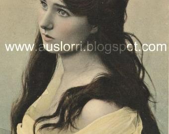 Mabel Beautiful lady single vintage image