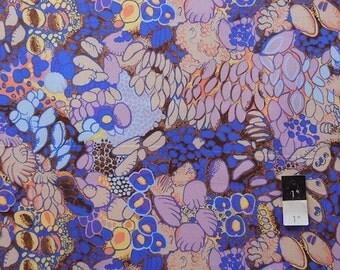 Melissa White PWMW014 Camille Odilon Mauve Cotton Fabric 1 Yd