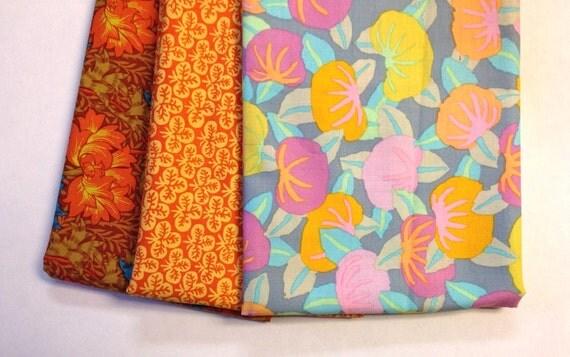 Kaffe Fassett Assorted Patterns Cotton Fabric REMNANT PACK