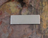 "20 Deburred 1/2"" inch X 1 1/2"" RECTANGLE *Choose Your Metal* Aluminum Brass Bronze Copper Nickel Silver Stamping Blanks"