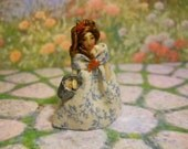 Miniature 1 3/4 Inch Seaside Doll for Hitty or American Girl