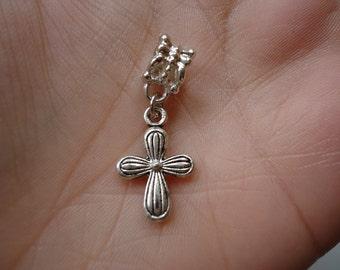Cross Bracelet or Necklace Charm