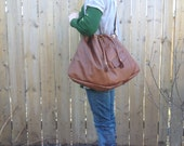 Lucinda in Cognac reclaimed leather