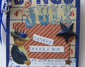 Yankee Doodle Bingo Card Decoration