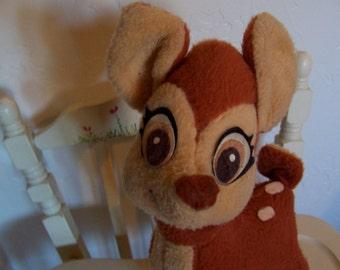 little stuffed bambi deer
