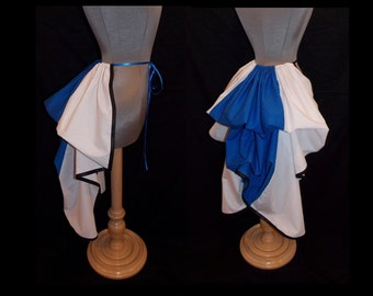 ANY COLOR Two Toned Mid Length Bustle Trim - Add a Bustle Skirt by LoriAnn