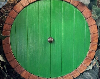 Middle earth Hobbit door, fairy door, faerie doors, elf door.