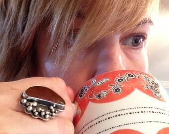 Orange crush ring