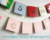 NEW DESIGNS Name Banner with 10 Letters