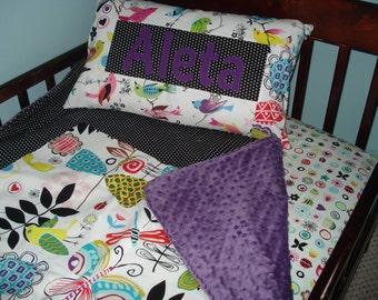 Custom Toddler Bedding