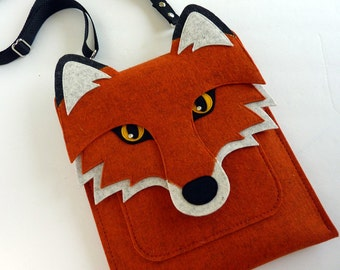 Fox case for Kindle, Kindle Paperwhite and Kindle Voyage // Ereader case