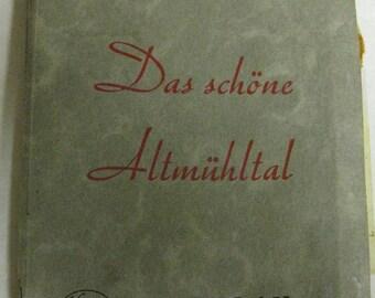 Vintage WWII Altmuhltal Germany Postcard Kosmos Kleinbild Photograph Set