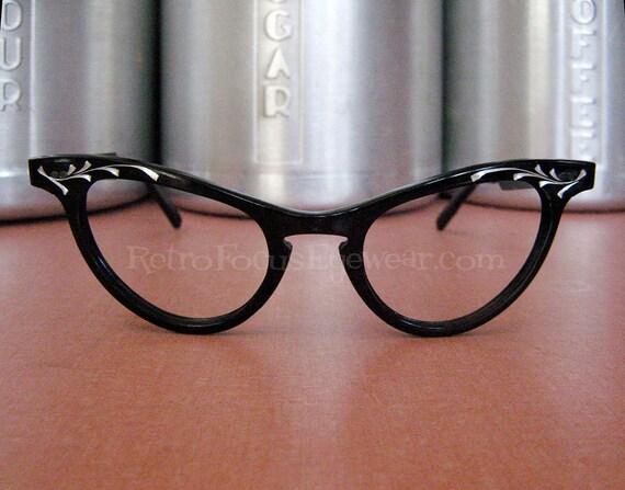 Vintage Shuron Eyeglass Frames : Shuron Aluminum 1950s Vintage Eyewear by BackThennishVintage