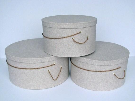 Last one x large hat boxes 39 granite 39 design heavy for Last design outlet