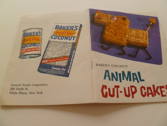 Animal Cut Up Cakes Booklet