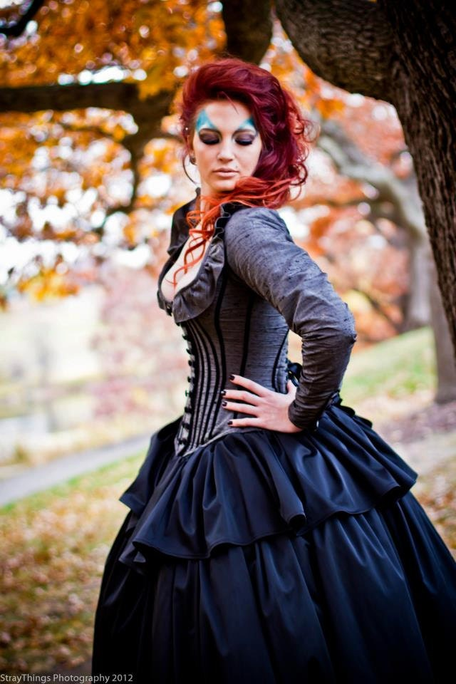 Alternative Wedding Gown Gothic Bridal Victorian Steampunk