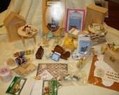 Destash Dollhouse/Miniature Lot 122