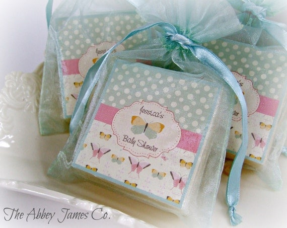 baby shower soap favors butterfly shower favors baby favors set of