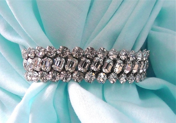 Crystal Diamond Stretch Bracelet