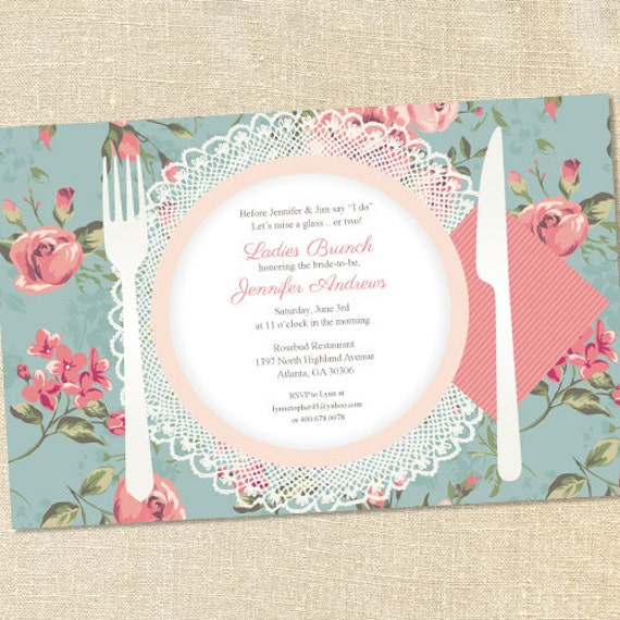 brunch invitations templates