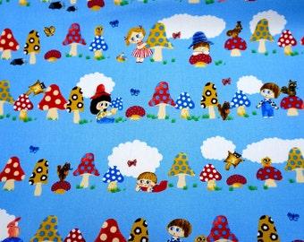 Mushroom and children print  nc45