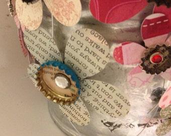 Handmade Regular and Mini Bottlecap Flower Magnets