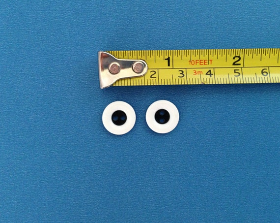 EXTRA SMALL Pair of monster eye buttons