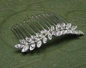 Rhinestone Hair Comb, Bridal Crystal Hair Accessory, Wedding Headpiece, Bridal Accessory, Bridesmaid Hair Comb